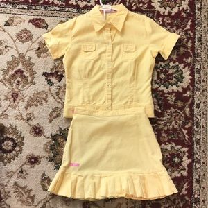 Other - Company B girls corduroy skirt and blouse set. XXL